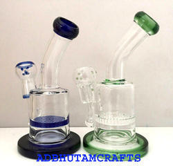 Heavy Duty Honey Comb Glass Bongs