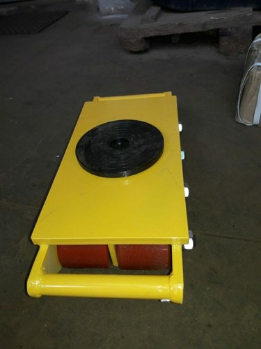 2-3 Feet Mild Steel Cargo Trolley, For Industrial, Load Capacity: 2-5ton
