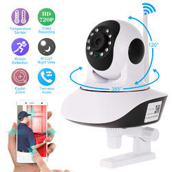 Link+ HD 720P Wireless Night Vision Wifi IP Camera, Model Number: Wifi Camera