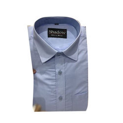 Mens Cotton Shadow Formal Shirt, Size: 38 to 44