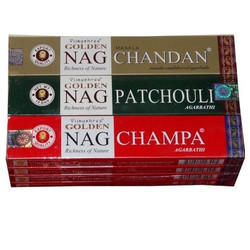 Golden Nag Champa Incense Sticks