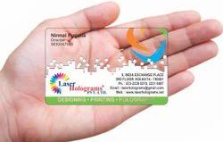 Transparent Card, Size: 86x54 Mm