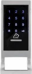 Silver Stainless Steel RFID Card & Password Drawer Cabinet Locks