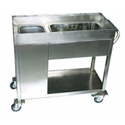 SS Kitchen Cart Trolley