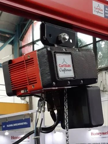 Material Handling System - Carlstahl Craftsman Electric Chain Hoist
