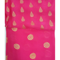 Pink Polyester Fabric, Gsm: 100-150