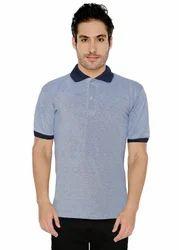 Nylon Plain Pique Polo T-Shirt, Packaging Type: Single Piece Pack