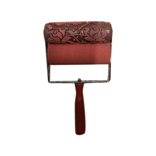 Embossed Rose Effect Paint Roller