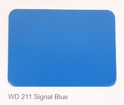 Wd-211 Signal Blue ACP Sheets