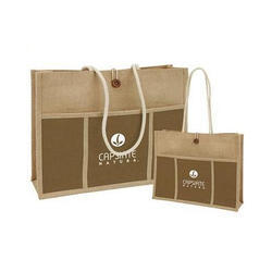 Brown Promotional Jute Bag