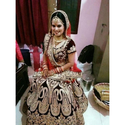 Shahi Lehenga Maroon Dark Red Bridal Lehenga Online On Rent Rs 9700 Piece Id 17842366073