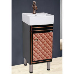 16 inch Single Sink PVC Bathroom Vanities