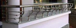 SS hand railing