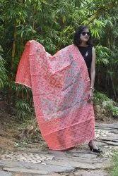 Colour Zari Banarasi Cotton Silk Dupatta