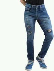 Damage 28x38 Man Jeans, Waist Size: 28