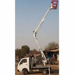 Mobile Bucket Truck, Capacity: 500 Kg