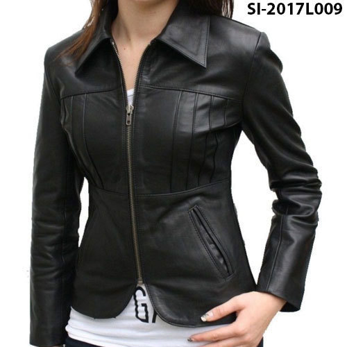 Black Ladies Jacket at Rs 900 /piece | Ladies Leather Jackets | ID ...