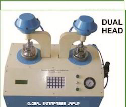 Bursting Strength Tester Double Head Pneumatic