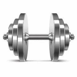 25 Kg Chrome Iron Steel Dumbbells