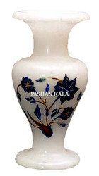Decorative White Marble Vase
