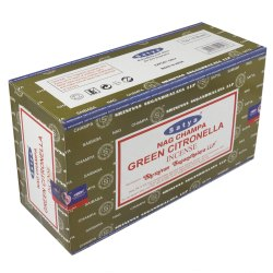 Satya Green Citronella Incense Sticks