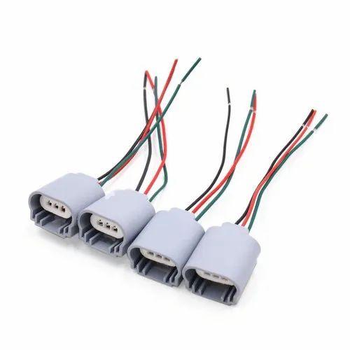 Headlight Bulb Male Wire Harness on