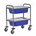 Stainless Steel Storage Trolley