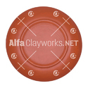Clay Dinner Plate / Food Plate