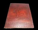 Beautiful Reindeer Sketching Leather Notebook