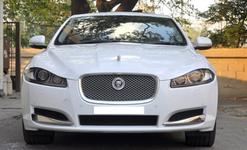 Jaguar Xf White 2012