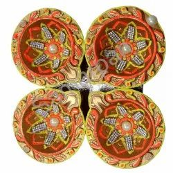 Golden Stone Diya 7092004891084