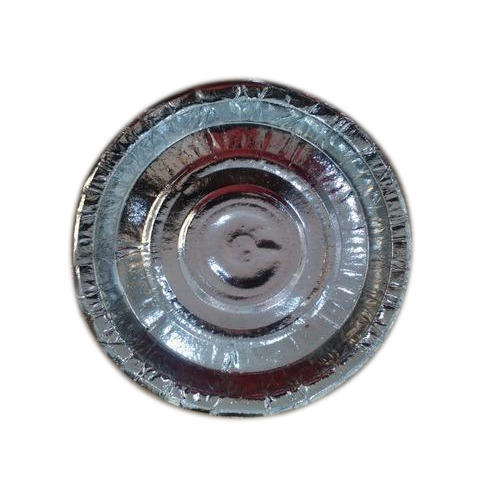 6 Inch Silver Foil Paper Plates, Packaging Type: Packet