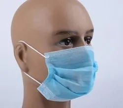 PP Non Woven General Purpose 3 ply mask