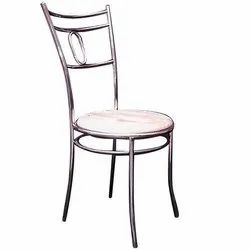 Dining Stainless Steel Wooden Chair