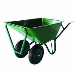 Double Handle Wheelbarrow