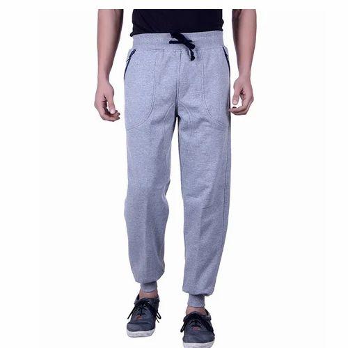 598d66dfa02 Woolen Grey Men  s Casual Lower