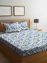 Double Cotton Printed Bedsheet, Packaging Type: Packet