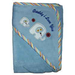 Cotton Embroidered Hooded Towels
