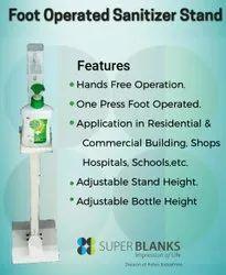 Hands Free Hand Sanitizer Stand Dispenser