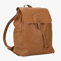 8d5d91d99f6c Unisex Black Leather Back Pack