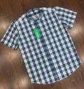 Formal Men Cotton Check Shirts