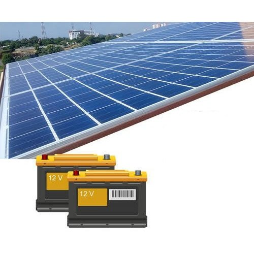 Off Grid 1kw 100 Mw Solar Power Back Up System Image Green Energy Private Limited Id 22426214233