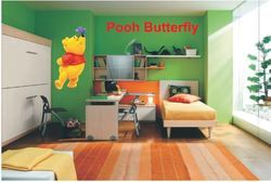 Big Stencils Pooh Butterfly