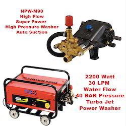 40 LPM Water Flow 40 Bar NPW 40-40 High Flow Turbo Washer