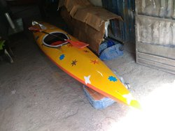 Single Seat Kayak Rowing Boat