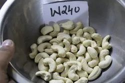 White 1% Cashew W240, Packaging Type: Tin, Pack Size: 10 kg