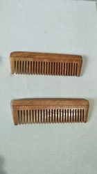 Neem Wooden Comb Small