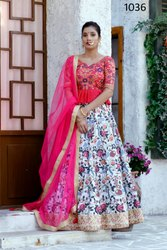 Heavy Exclusive Wedding Wear  Bridal Lehenga Choli