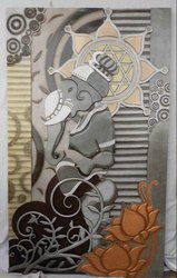 Ganesh Metal Wall Hanging