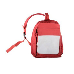 Red Single Handle Backpack